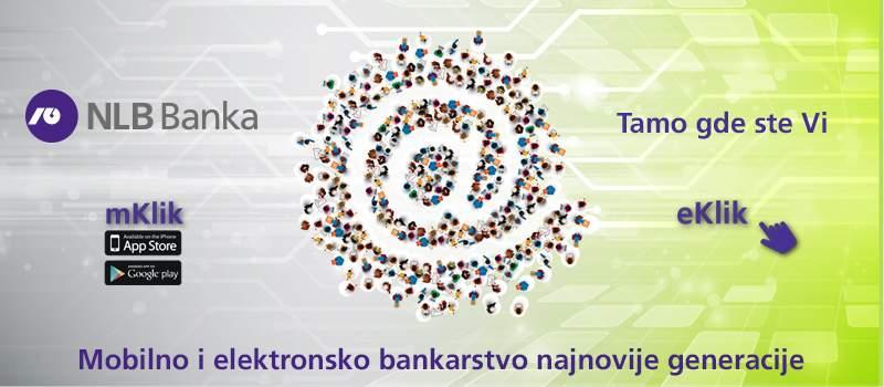 Internet bankarstvo najnovije generacije u NLB banci