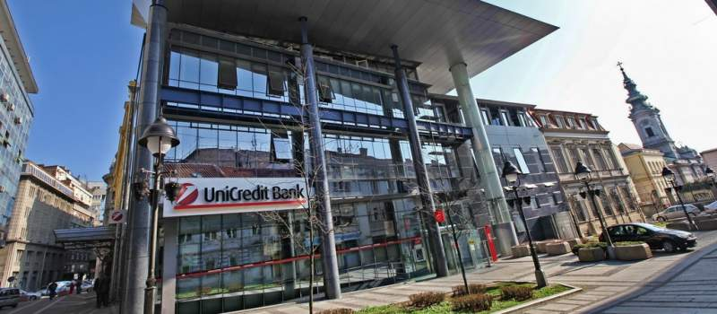 Unikredit: Neto profit u 2013. bio 3,8 milijardi dinara