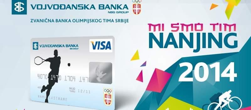 Visa Olimpijska kartica Vojvođanske banke