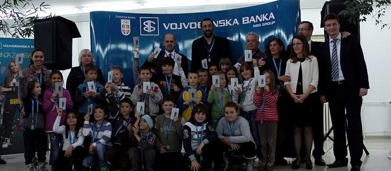 Vojvođanska poklonila deci 110 štednih knjižica